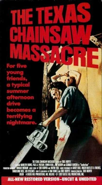 VHS Videos - Texas Chainsaw Massacre 1974