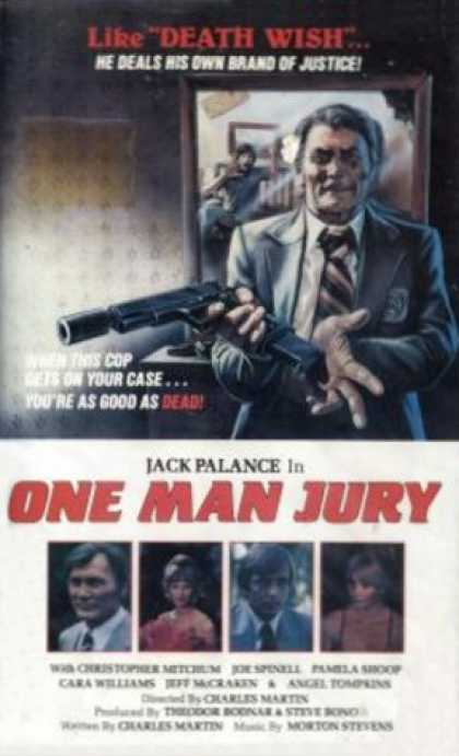 VHS Videos - One Man Jury United