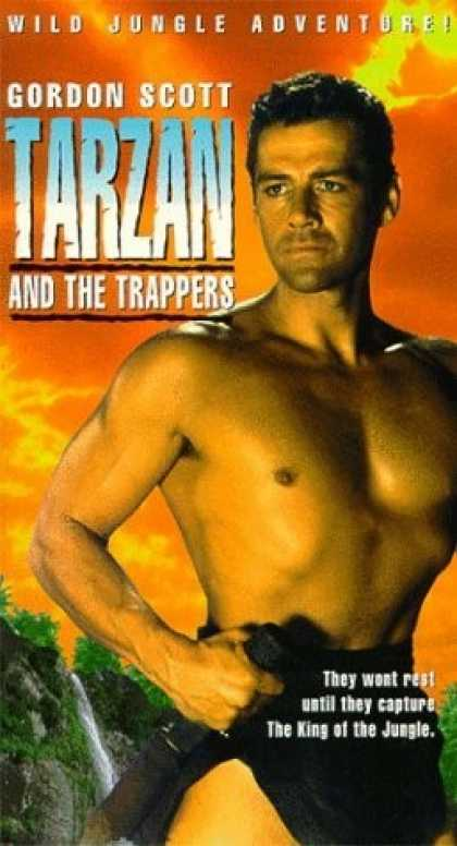 VHS Videos - Tarzan and the Trappers United American