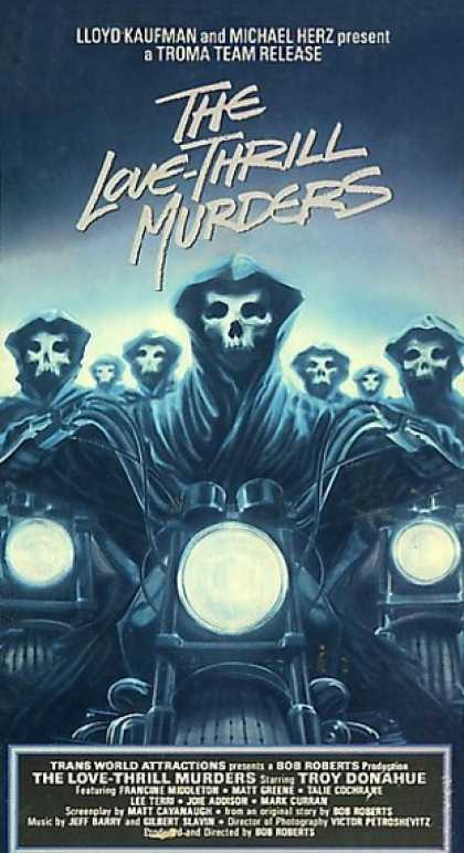 VHS Videos - Love Thrill Murders
