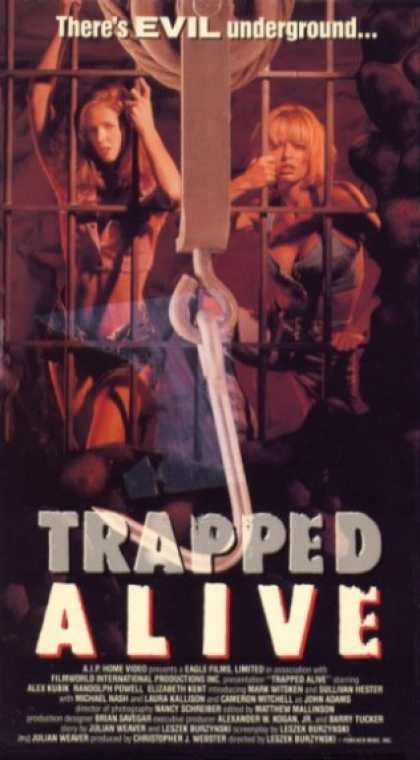 VHS Videos - Trapped Alive