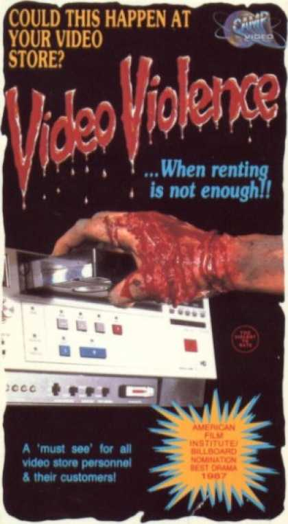VHS Videos - Video Violence