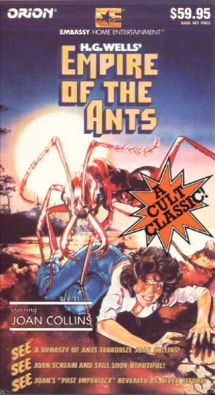 VHS Videos - Empire Of the Ants
