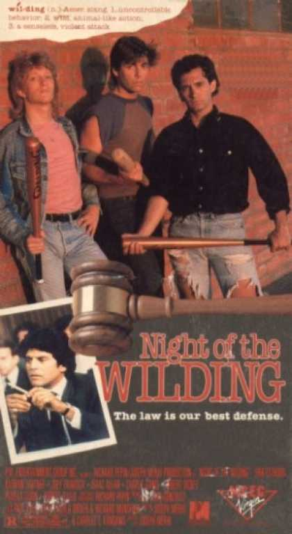 VHS Videos - Night Of the Wilding