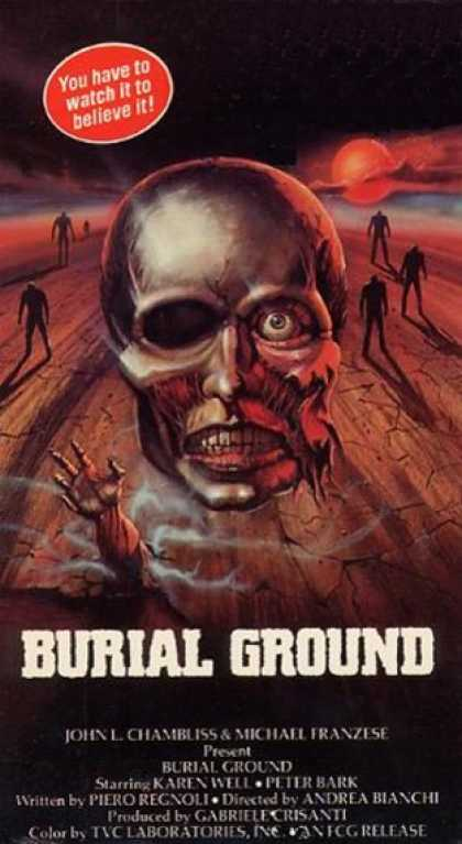 VHS Videos - Burial Ground