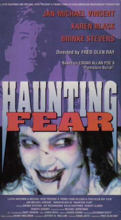 VHS Videos - Haunting Fear