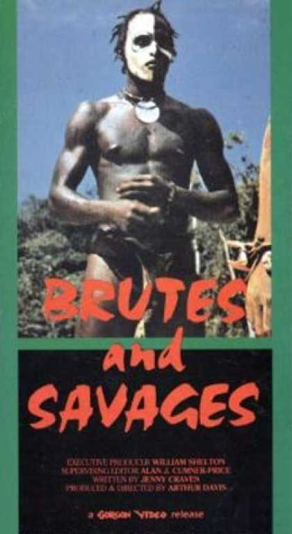VHS Videos - Brutes and Savages