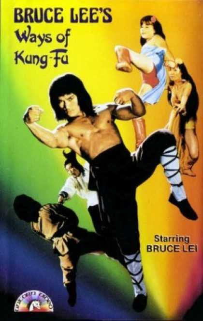 VHS Videos - Bruce Lee's Ways Of Kung Fu
