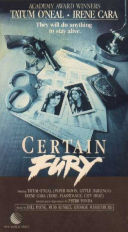 VHS Videos - Certain Fury