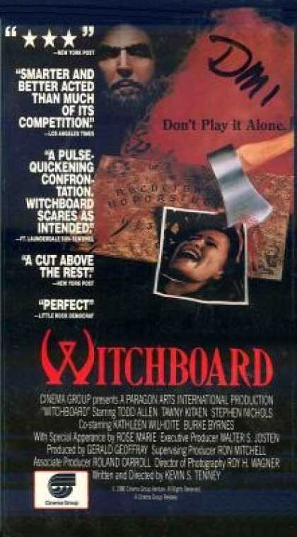 VHS Videos - Witchboard