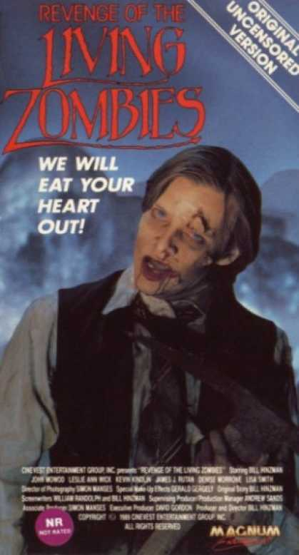 VHS Videos - Revenge Of the Living Zombies
