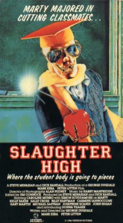 VHS Videos - Slaughter High