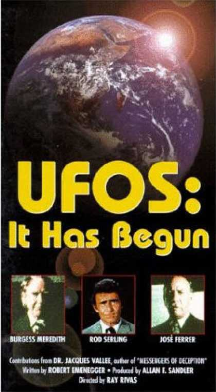 VHS Videos - Ufos It Has Begun United