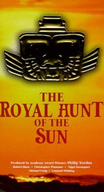 VHS Videos - Royal Hunt Of the Sun