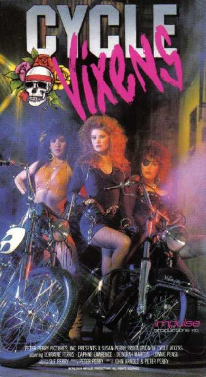 VHS Videos - Cycle Vixens