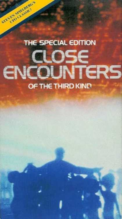 VHS Videos - Close Encounters Of the Third Kind
