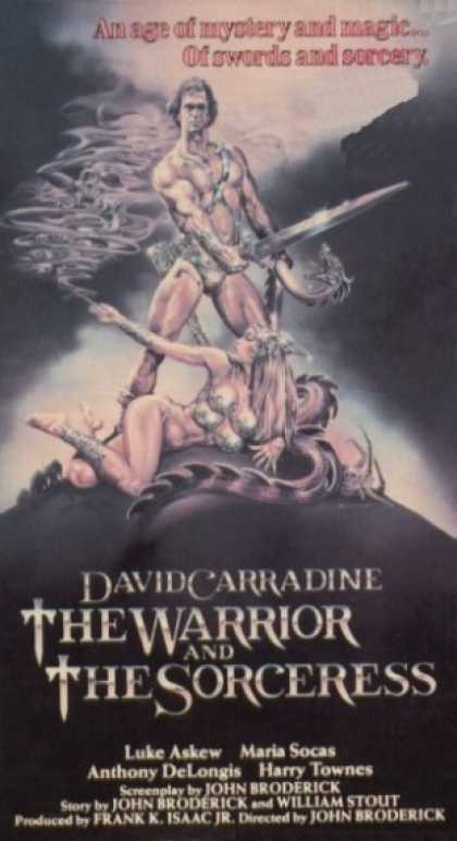 VHS Videos - Warrior and the Sorceress