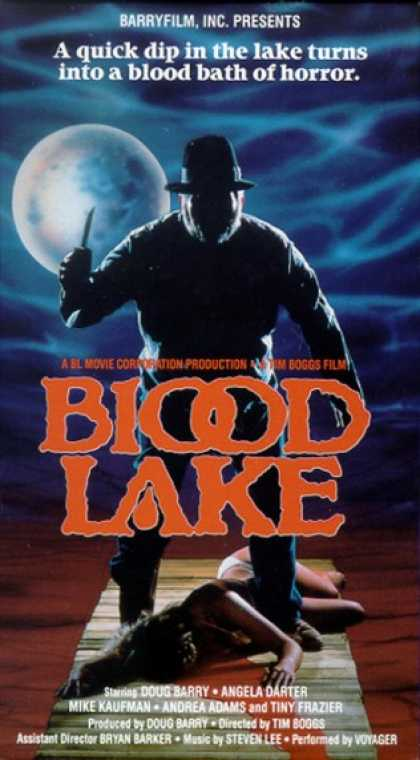 VHS Videos - Blood Lake