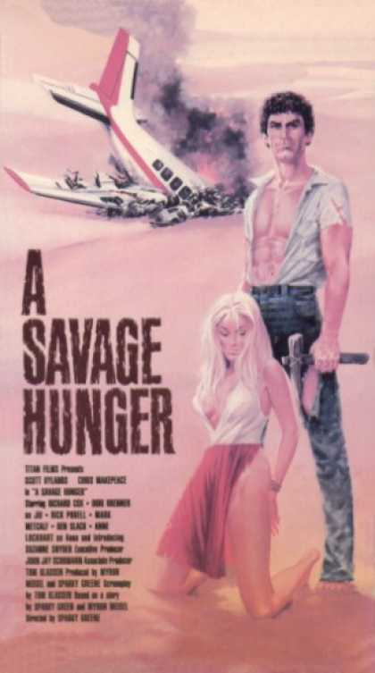 VHS Videos - Savage Hunger