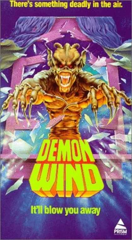 VHS Videos - Demon Wind