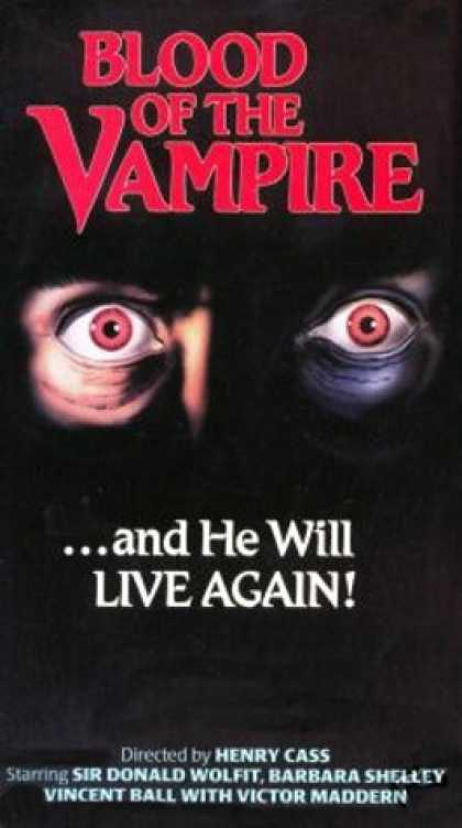 VHS Videos - Blood Of the Vampire