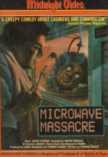 VHS Videos - Microwave Massacre