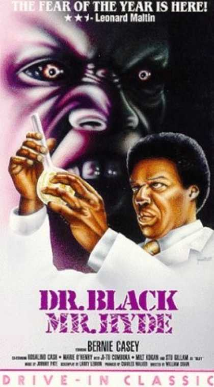 VHS Videos - Dr. Black Mr. Hyde