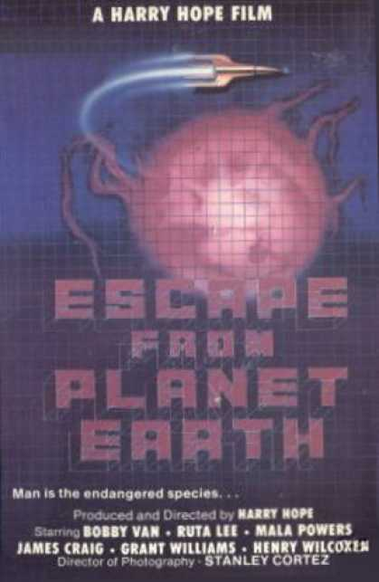 VHS Videos - Escape From Planet Earth