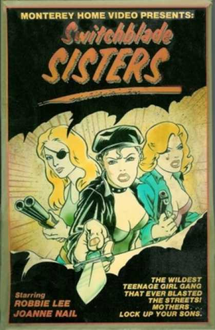 VHS Videos - Switchblade Sisters