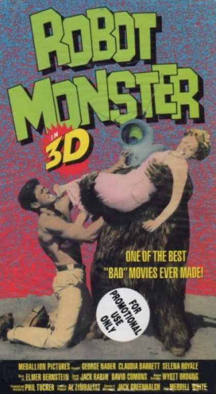 VHS Videos - Robot Monster