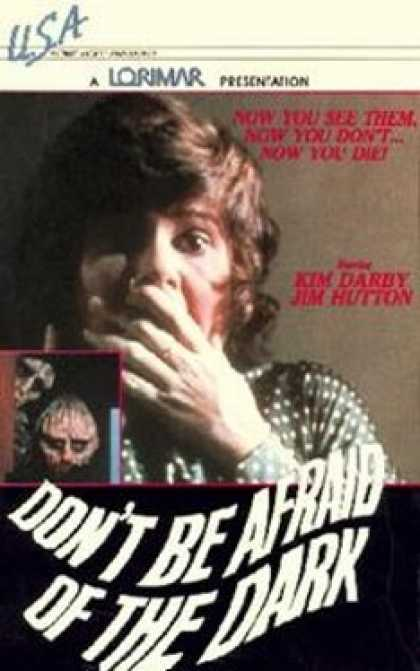 VHS Videos - Don't Be Afraid Of the Dark