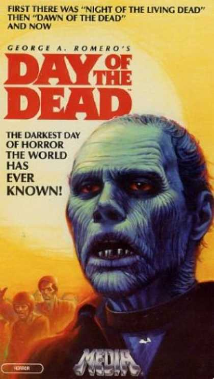 VHS Videos - Day Of the Dead