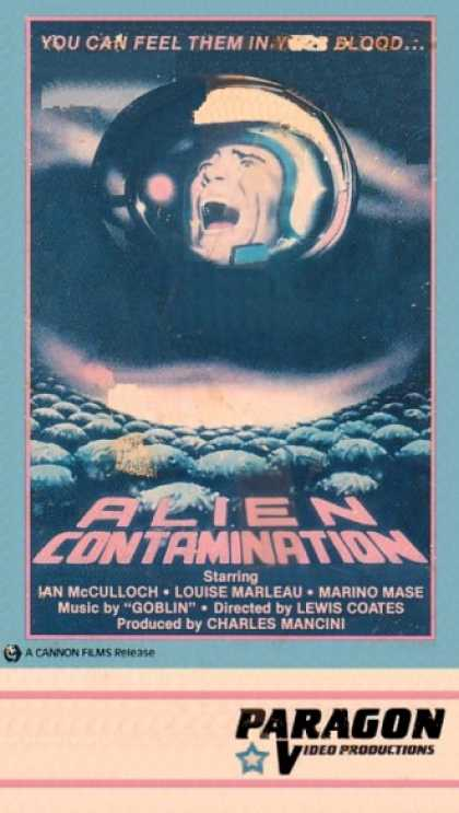 VHS Videos - Alien Contamination