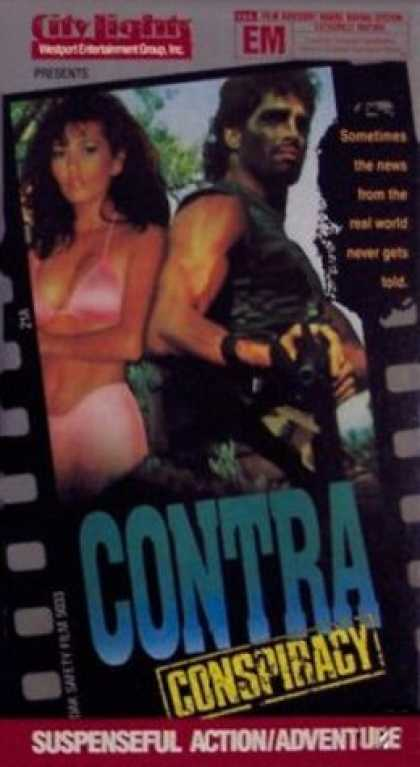 VHS Videos - Contra Conspiracy City Lights