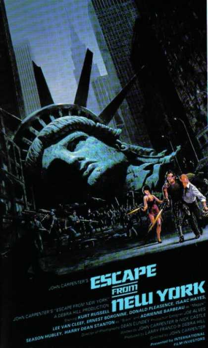 VHS Videos - Escape From New York