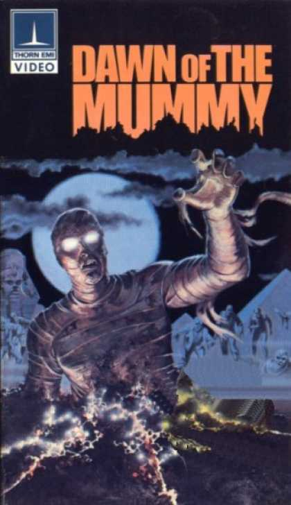 VHS Videos - Dawn Of the Mummy Thorn