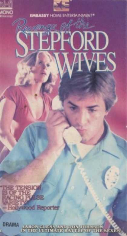 VHS Videos - Revenge Of the Stepford Wives