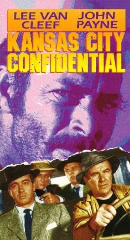 VHS Videos - Kansas City Confidential United American