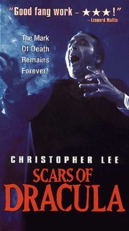VHS Videos - Scars Of Dracula