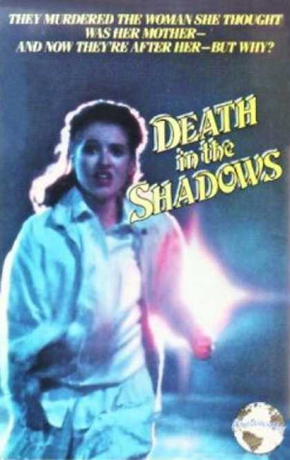 VHS Videos - Death in the Shadows