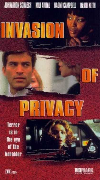 VHS Videos - Invasion Of Privacy
