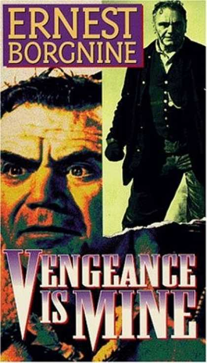 VHS Videos - Vengeance Is Mine United American