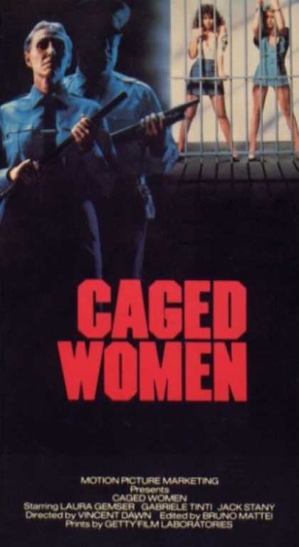 VHS Videos - Caged Women