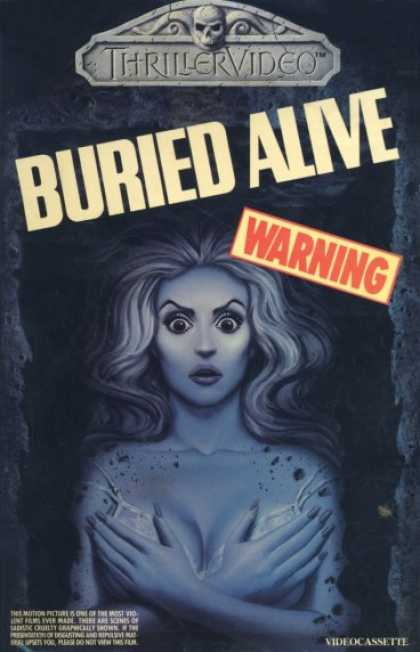 VHS Videos - Buried Alive 1979 Thrillervideo