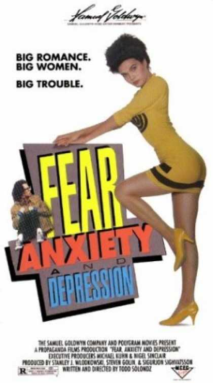 VHS Videos - Fear Anxiety and Depression