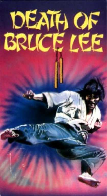 VHS Videos - Death Of Bruce Lee