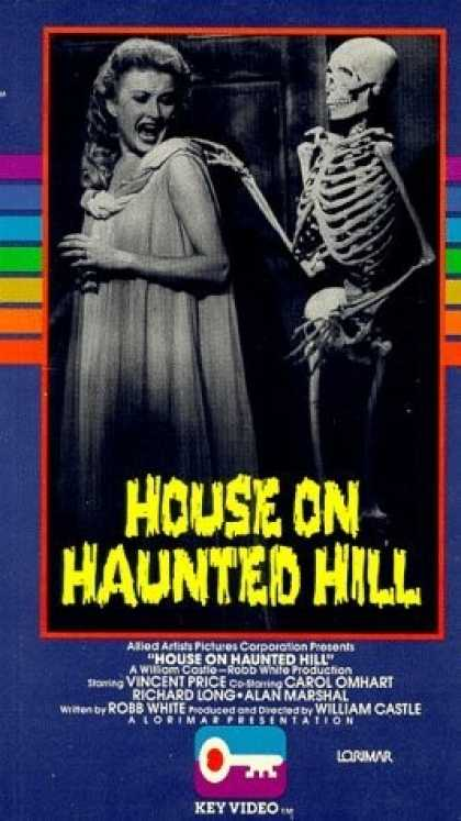 VHS Videos - House On Haunted Hill 1958