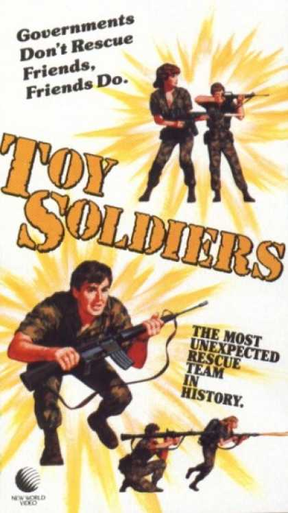 VHS Videos - Toy Soldiers 1984
