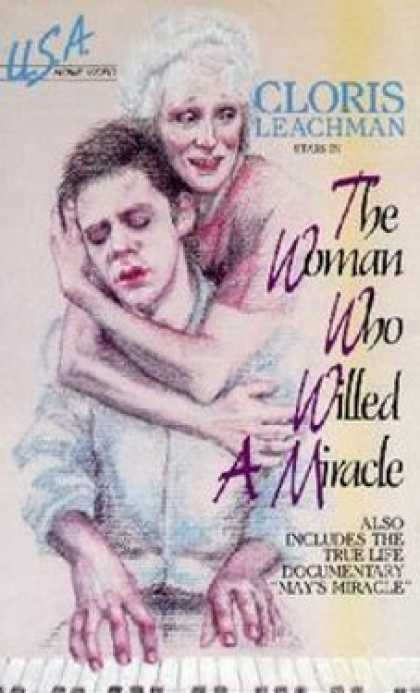 VHS Videos - Woman Who Willed A Miracle