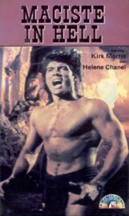 VHS Videos - Maciste in Hell